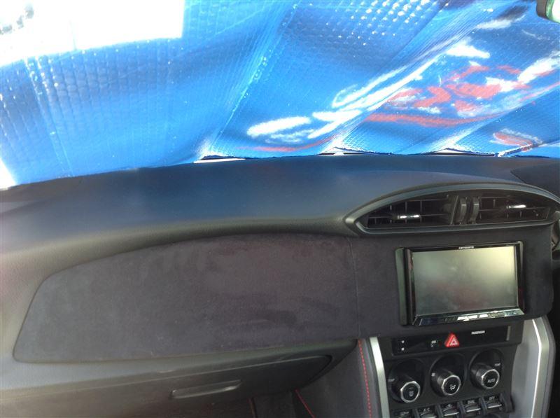 貼り直すよりも、早く車に付けたいの方が気持ち「大」でしたので、車に付けちゃいました。<br /> <br /> 少し見栄えがよくなり満足。<br /> <br />