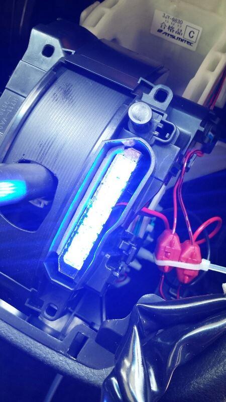 後期ATシフトイルミFLUX-BLUE-LED