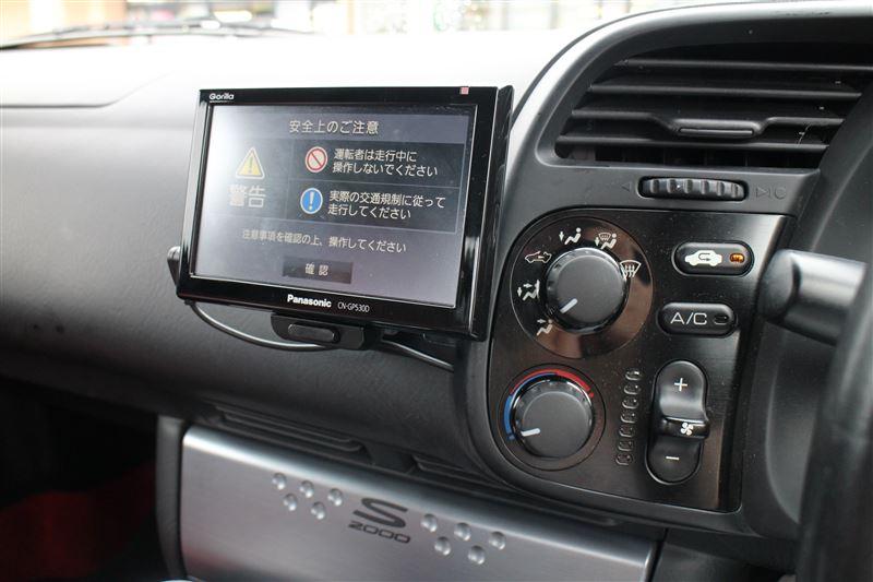 ポータブルナビ取り付け   ホンダ S2000 by Kuro. - みんカラ