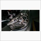 Myvi ヘッドライト HID化 / Change headlight to HID