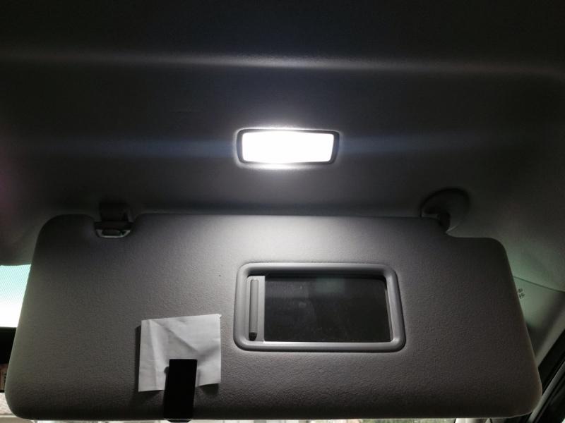 面発光LED取り付け