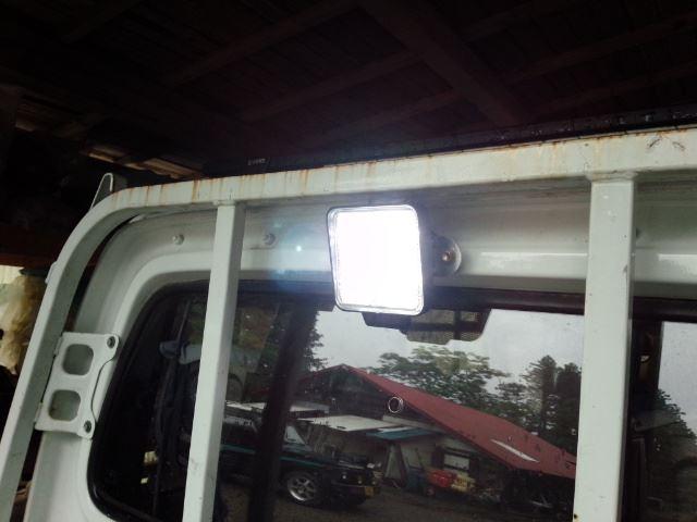 アクティトラック作業灯LED化