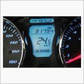 交換時走行距離:31,794km<br /> 前回の交換時走行距離:29,039km<br /> 交換までの走行距離は・・・2,755km