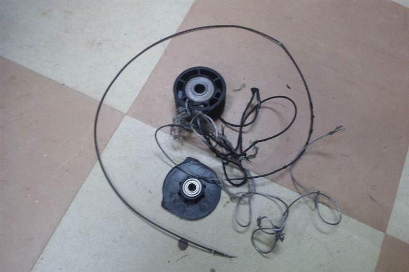 スライドドア、ワイヤー切れ修理(その1)