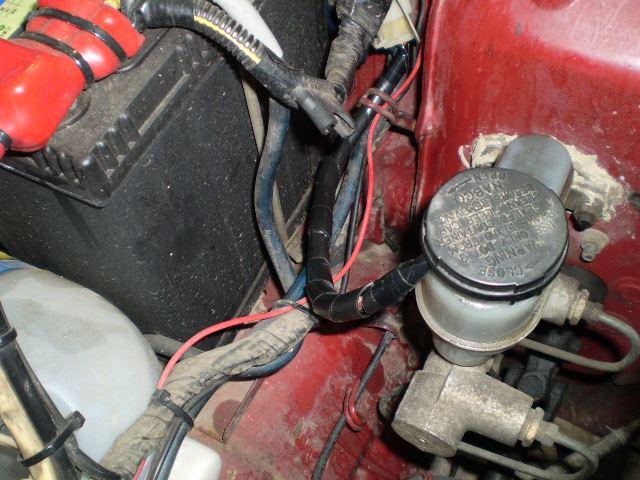 ブレーキフルード残量警告灯(チェックランプ)の修理
