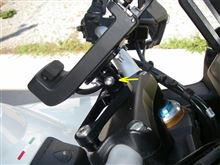 ムルティストラーダ1200 バイクナビ取付 その2のカスタム手順1