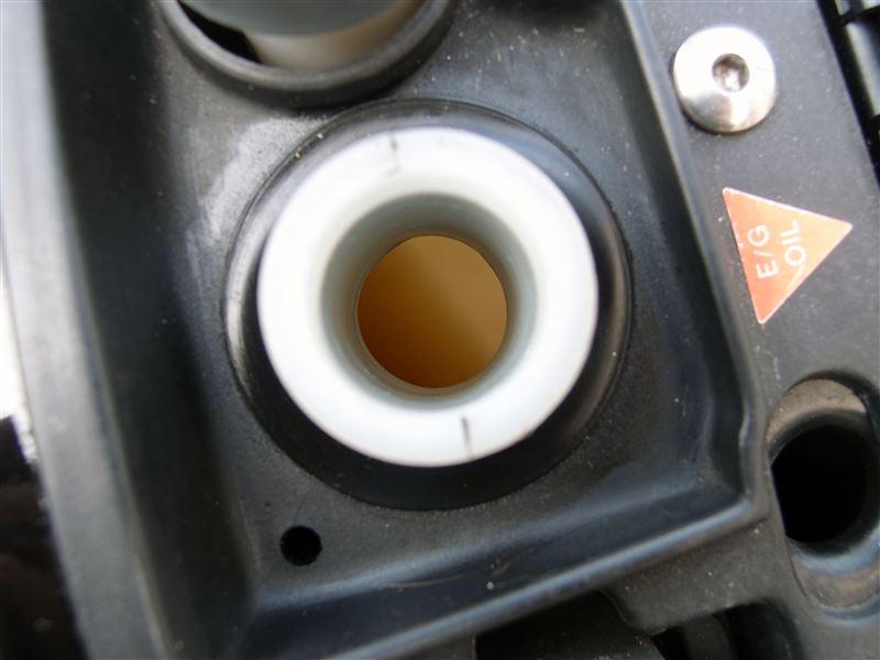 RS250 e/gオイル交換