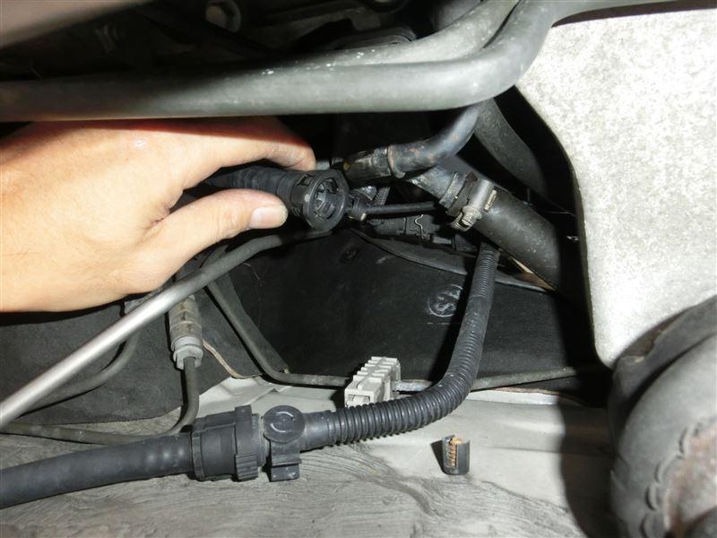 N42エンジン ブローバイ経路およびオイルトラップ清掃(裏技偏)