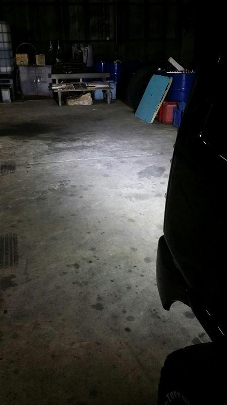 CREE 2520ルーメン12連LEDワークライト取付