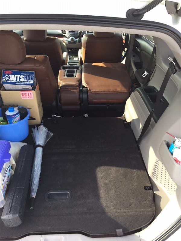 車中泊を快適にするために。