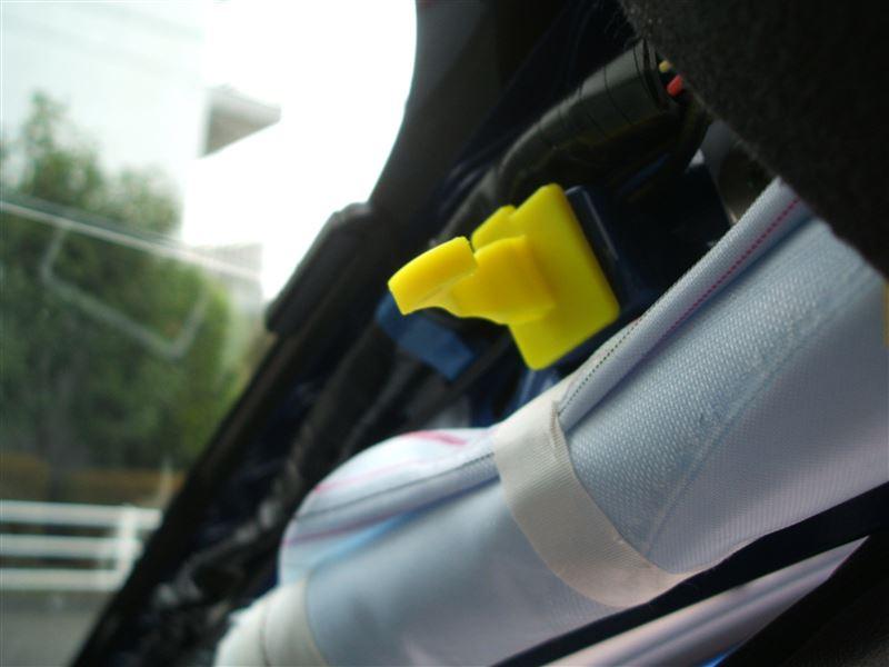 Aピラーカバー、フロントスピーカーカバーの外し方(運転席側)