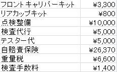 2014車検