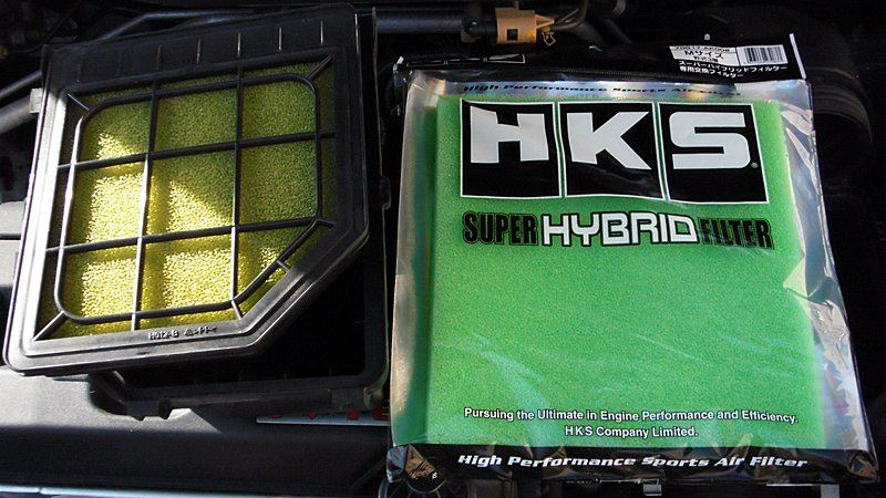 HKS SUPER HYBRID FILTER フィルター部のみ交換