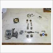 燃料ポンプ修理(オリジナルポンプ+新モーター)