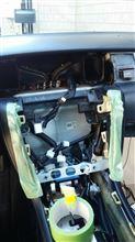 SC430 サイバーナビ取り付けのカスタム手順1