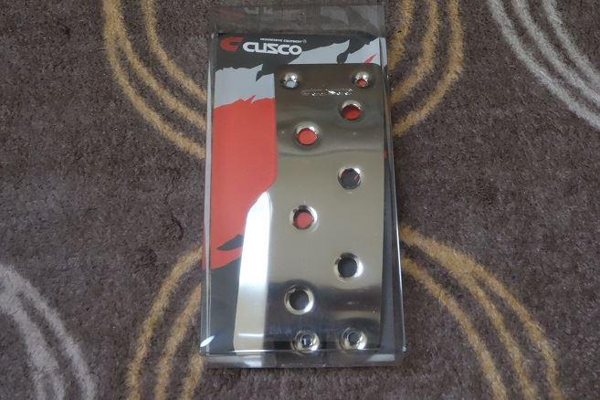 CUSCO スポーツアクセルペダルを付けてみる