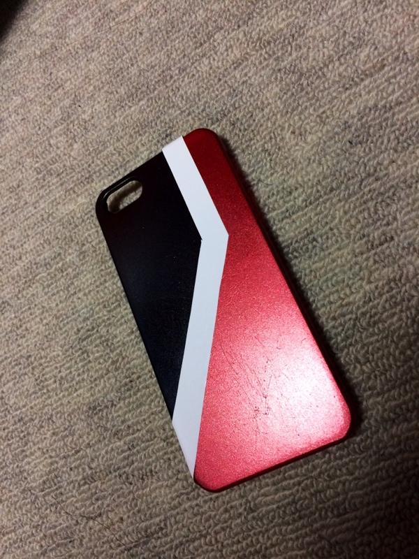 iPhoneケース BSカラー