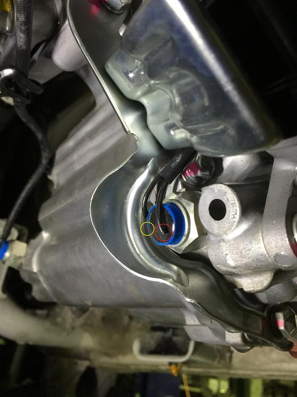 4WD-L切り替え不良修理