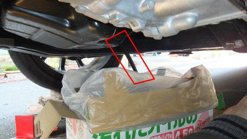 【C26】エンジンオイル・オイルフィルター交換②