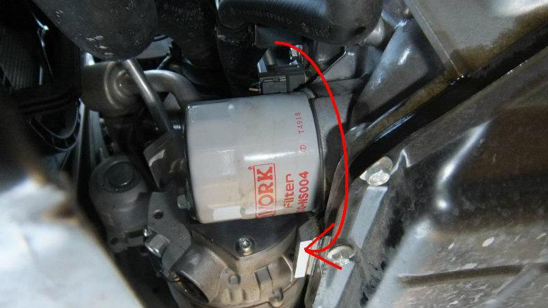 【C26】エンジンオイル・オイルフィルター交換④