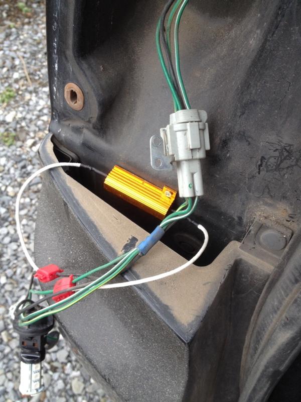 テールランプ ウインカー LED化