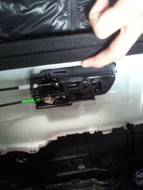 KENWOOD KFC-RS171 スピーカー&インナーバッフル取り付け