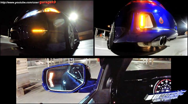 Chevrolet Camaro 用 エキパイ と Day Light ウインカー