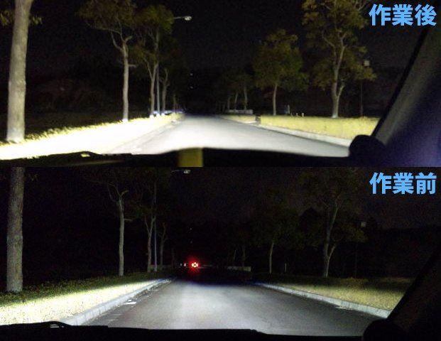 オートレベリング機能の再設定 自動光軸調整