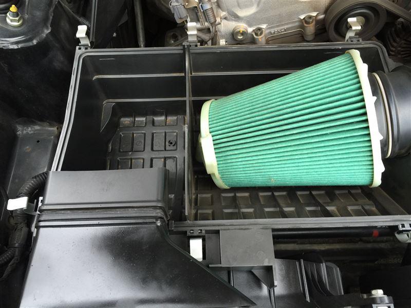 ハイフラ解消+サイドマーカー交換+エアクリーナーBOX清掃