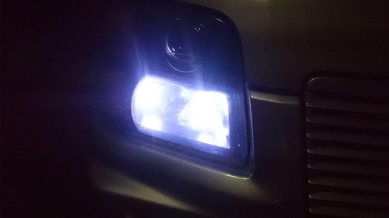ポジションランプの換装・・・色温度の調整