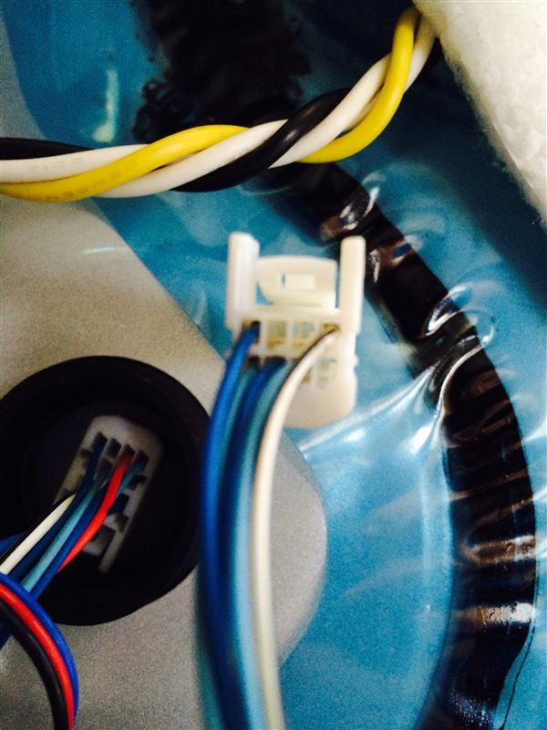 スライドドアパネルドリンクホルダー&ポケットLED間接照明施工