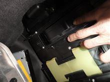 Sクラス W220 エアコンフィルター交換作業④のカスタム手順2