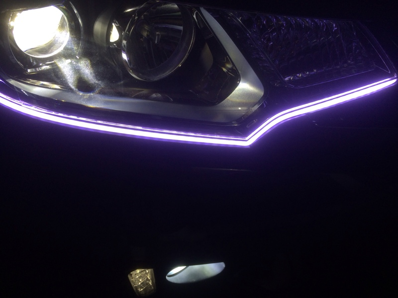 LEDアイライン チューブ化