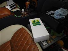 Sクラス W220 S65 エアコンフィルター交換作業⑤のカスタム手順2