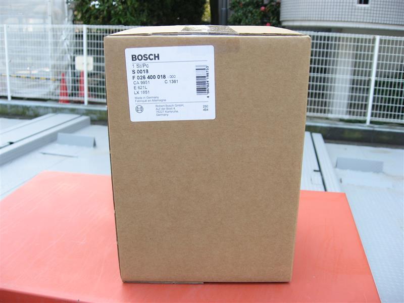 BOSCH エンジン用エアフィルター 交換