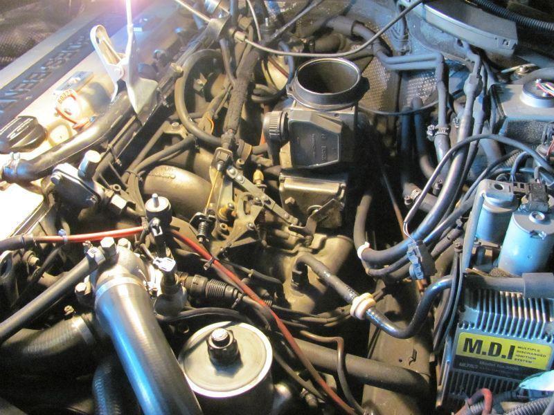 W140 300SE 93y ウォーターポンプ・サーモスタット交換