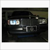 W124 300E フロント パワーウィンドウレギュレーター モーター交換の画像