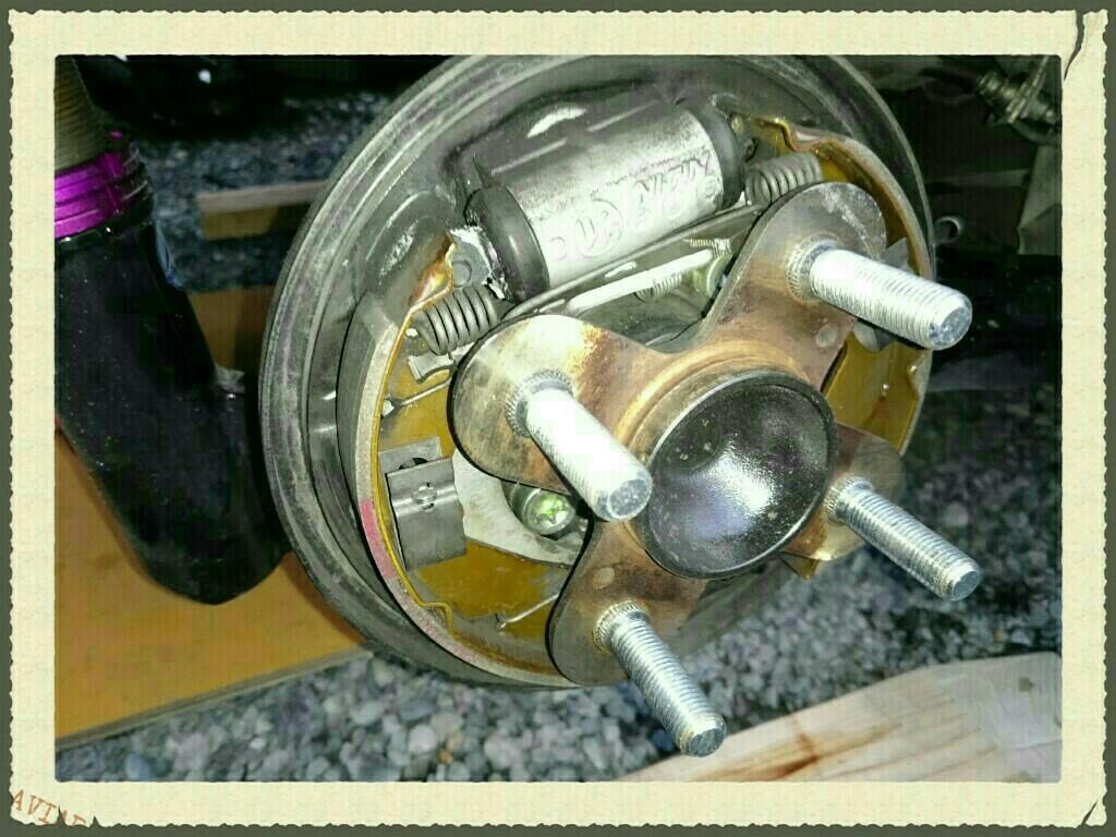 L250Sアヴィのリアハブボルトのロング化