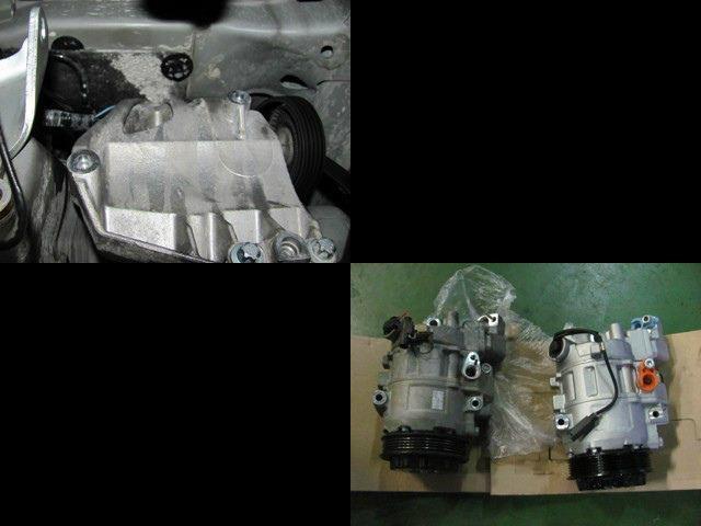 W168 エレガンス 01y エアコンコンプレッサー交換