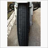R65LSタイヤ交換とミラー塗装剥離