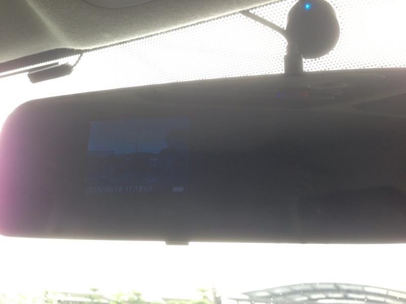 ドライブレコーダー取り付け!