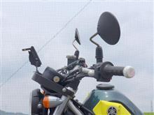 セロー250 バイクナビのベスト・ポジション(取り付け)のカスタム手順2