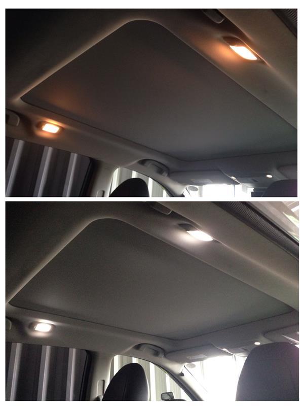 [T32]サンルーフ車ルーム灯、ラゲッジ灯、ナンバー灯のLED化