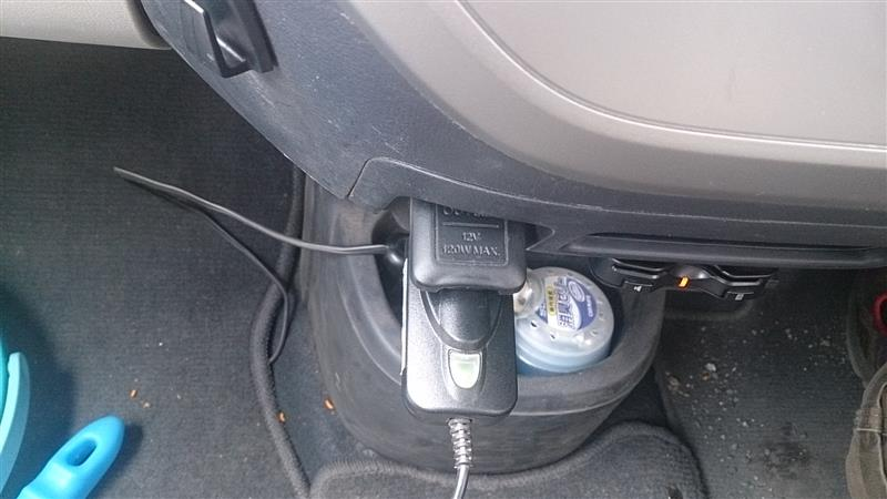 ヒューズボックスからアクセサリー電源を取る(ドライブレコーダーの取り付け)