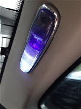 XJR ルームランプ取付加工のカスタム手順2