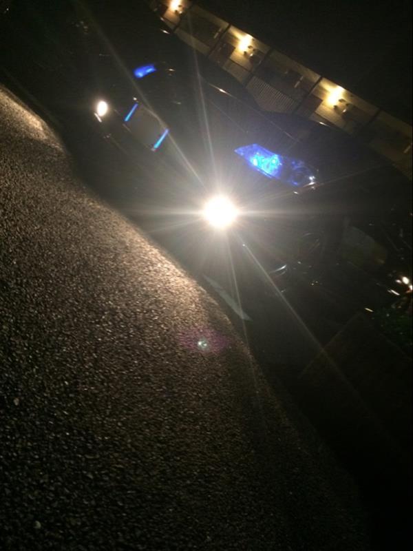 ポジション変更 LED(ブルー)