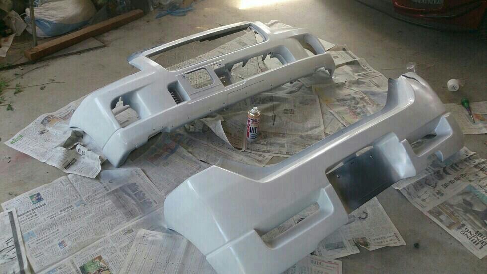 バンパー塗装