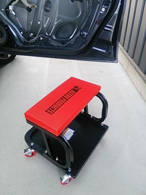 運転席側のデットニング&スピーカー交換