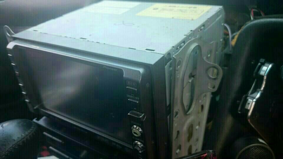 社外オーディオ Carrozzeria AVIC-DRZ009 移植 前編