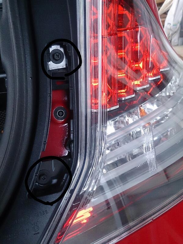 バックランプ(後退灯)LED